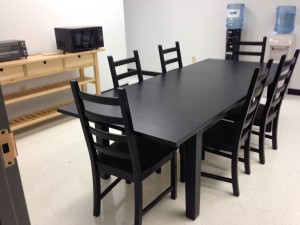 Furniture Assembly Service in Atlanta - Breakroom