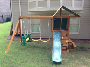 Swingset Installation Service in Atlanta 2