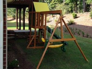 Swingset Installation Service in Atlanta 1