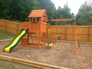 Swingset Installation Service in Atlanta